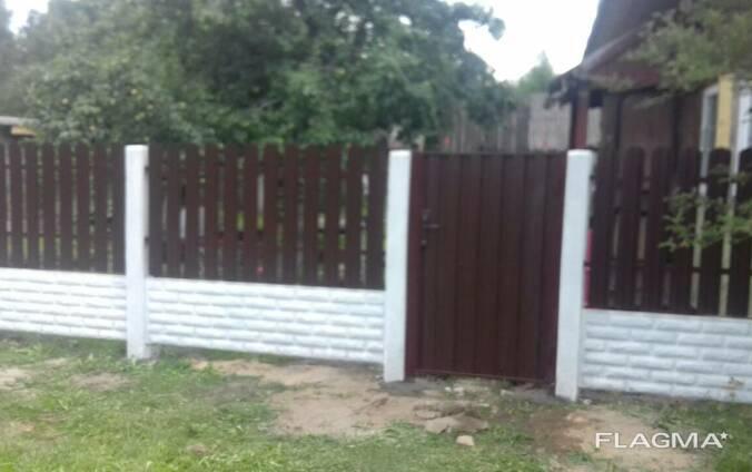 Заборы, ограждения, ворота, калитки Пуховичский район
