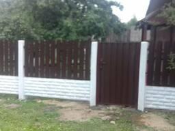 Заборы, ограждения, ворота, калитки Пуховичский район - фото 1