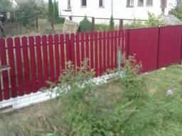 Заборы, ограждения, ворота, калитки Пуховичский район - фото 6