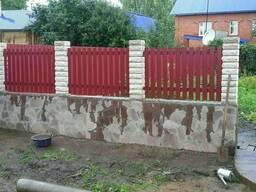 Заборы, ворота, калитки любой сложности