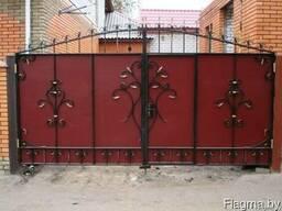 Заборы, ворота, калитки. Любые материалы. Доставка