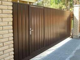 Заборы, ворота, калитки под ключ в Гомеле и области