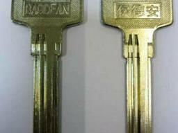 Заготовка для ключей BAO-3D Baodean 3 паза левые длинные