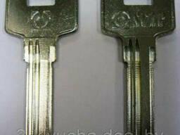 Заготовка для ключей HOOP-3D Hooply 3 паза (8,8*32мм)...