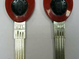 Заготовка для ключей MJL-1P пластиковая ручка верикальная