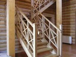 Под заказ деревянные лестницы - фото 3