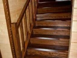 Под заказ деревянные лестницы - фото 4