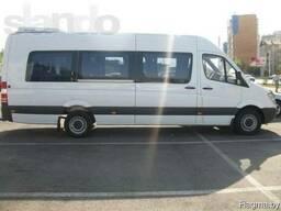 Заказать автобус 15 мест по РБ, СНГ, Европа на свадьбу
