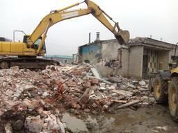 Заказать снос здания в Витебске