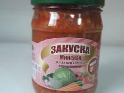 Закуска Минская из свежей капусты 0, 45л. /450гр