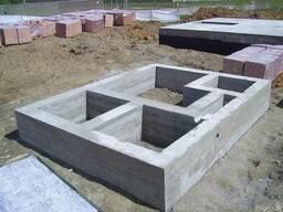 Заливка фундаментов в Гомеле