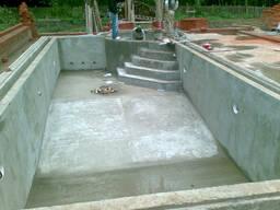 Заливка и устройство дачного бассейна