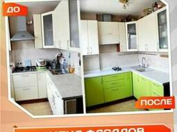 Замена фасадов, столешницы для Вашей кухни