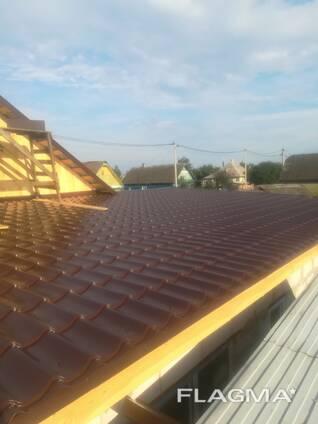 Замена крыши в частном доме