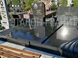 Замена надгробий на кладбище в Гродно