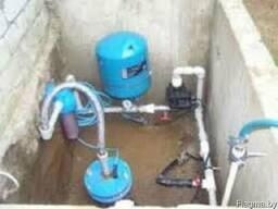 Замена реле давления и гидроаккумуляторов в Атолино