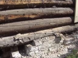 Замена венцов деревянных домов