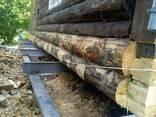 Замена венцов деревянных домов - фото 7