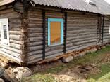Замена венцов реконструкция фундамента подъем дома - фото 2