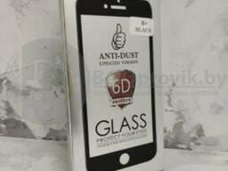 Защитное стекло (Glass 6D) iphone 6 в кейсе
