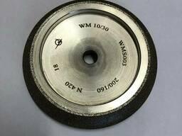 Заточной для ленточных пил боразоновый алмазный круг 127