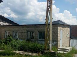 Здание бытовых помещений