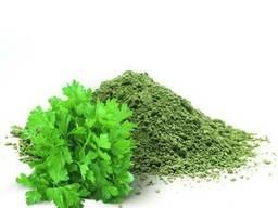 Зелень петрушки молотая сушеная