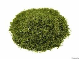 Зелень укропа молотая сушеная