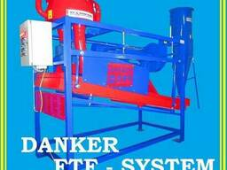 Зернолущилка центробежная с аспирацией. FTF-system