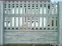 """Железобетонный забор """"Дощатый"""""""