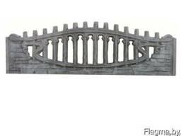 Железобетонный забор, панели ограждений, забор