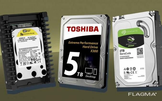 Жесткие диски HDD, SSD