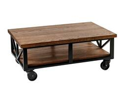 Журнальный стол в стиле Лофт